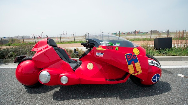 The Akira Bike of Your Dreams Is Racing Across Japan