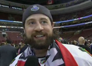 Adam Burish Takes High Road, Offers To Punch Chris Pronger One More Time