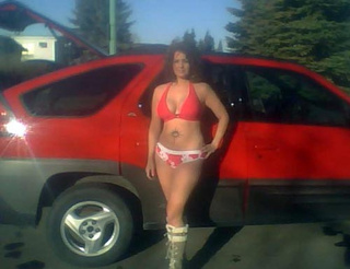 How To Sell A Pontiac Aztek: Add A Bikini-Clad Lady