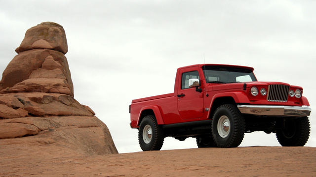 Jeep J12 Concept: Live Photos