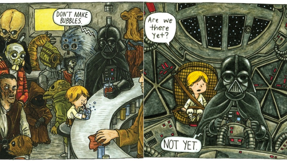 Click here to read What Darth Vader Would Look Like If He Was a Good Dad