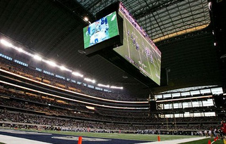 Cowboys' Massive New Stadium Not Big Enough To Play Football In