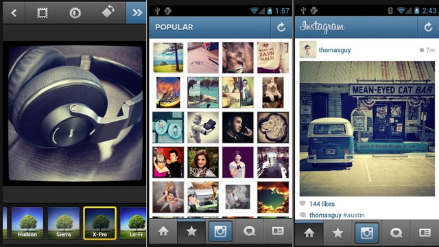 Instagram for Android, Hipmunk Update, and More