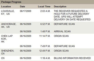 "Apple Tells UPS To Hold Your iPhone 3GS Until ""Future Delivery Date"""