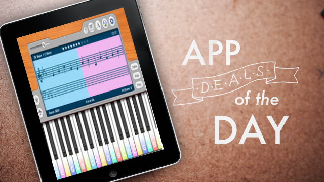 Daily App Deals: Get Piano Notes Pro for iOS for Free in Today's App Deals
