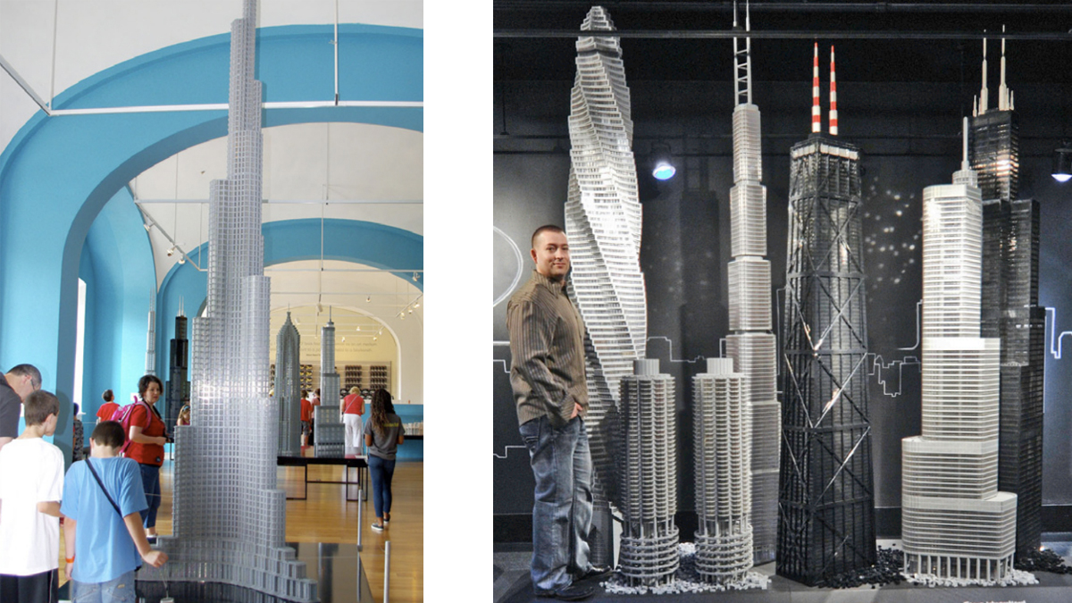 Click here to read Lego Architecture Exhibit Is Made of 15,500,000 Lego Bricks