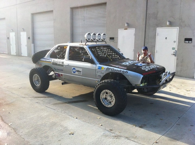 Bill Caswell's Baja Bimmer Heads To Starting Line