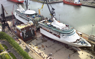 Making a Stretch Cruise Ship Is Tougher than It Looks