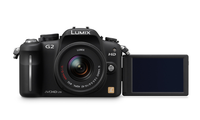 Panasonic Lumix DMC-G2 and G10 Micro Four Thirds Cameras: G2 Gets Touchscreen Control, Both Get HD Video