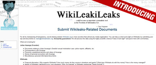 Introducing Wikileakileaks: Your Source for Wikileaks-Related Leaks