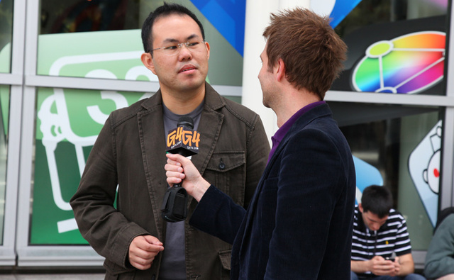 Jason Chen and Chris Hardwick Talking iPhone 3GS on G4's Attack of the Show