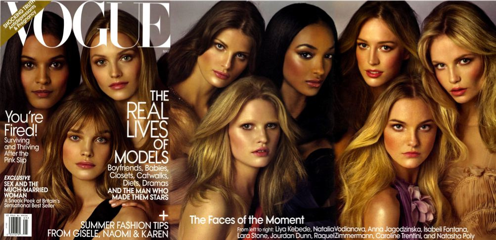 <i>Vogue</i>'s Multi-Model May Cover Leaks