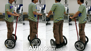 Koreans Make Segway That's Half the Price, Many Times More Korean