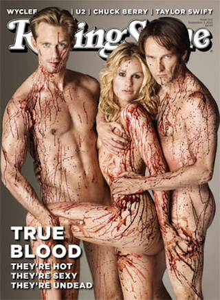 Rolling Stone's True Blood Cover: Gross Vampire Threesome