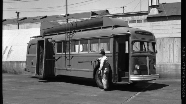 "San Francisco's 1958 ""Cyclone"" Bus Duster"