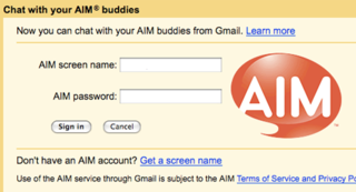 Gmail Adds AIM Support to Chat