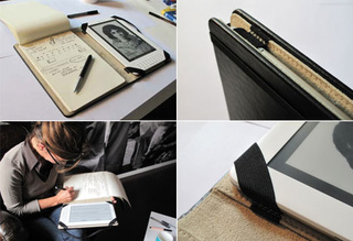 An Official Moleskine Kindle Case, No Modding Required