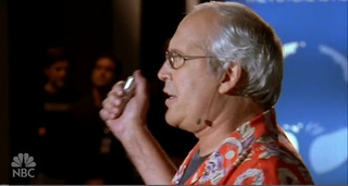 NBC's Chuck Parodies MacWorld With Chevy Chase As Steve Jobs