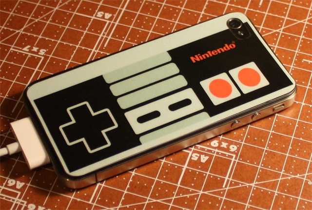 Pretend Your iPhone Is Just a Really Impressively Modded NES Controller
