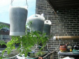 Build a Self-Watering Hanging Planter
