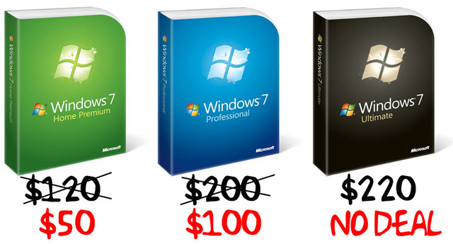 Windows 7 Pre-Ordering: Where, What, How, Huh?