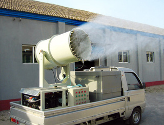 Deodorant Cannons Wage War Against Landfill Stench