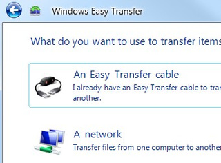 Easy Transfer Migrates XP Settings to Windows 7