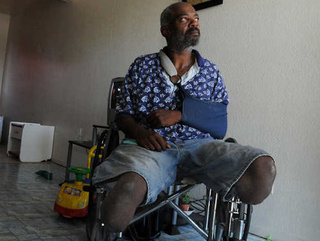 WTF? Police Taser Legless Man in Wheelchair