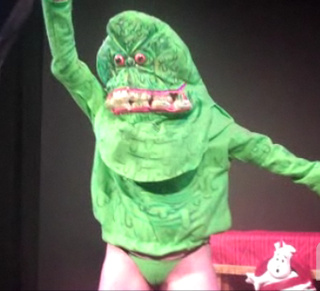 Ghostbusters burlesque foists a buxom Slimer upon unsuspecting audience (slightly NSFW)