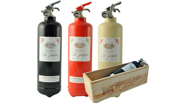 Designer Fire Extinguishers Are a Property-Saving Fashion Accessory