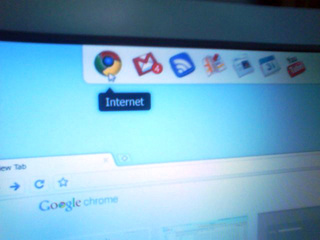 Is This the First Real Screenshot of Chrome OS?