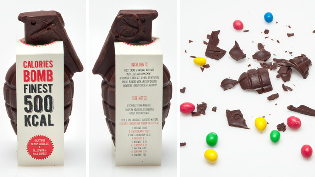 Wage War On Your Diet With a Chocolate Grenade