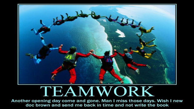 Today In Jose Canseco Tweets As Motivational Posters: Teamwork