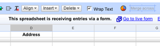 Enter Data into Google Spreadsheets via Custom Forms