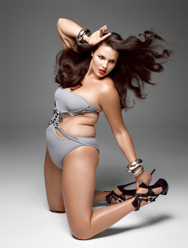 Stylist Says V's Plus-Size Issue Goes Too Far; St. John Drops Angelina Jolie