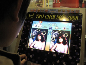 Adult video games are flooding Vietnam's Ho Chi Minh City.