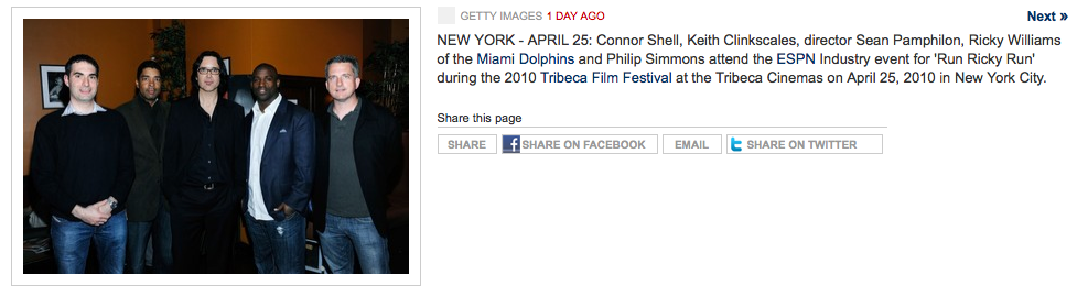 Introducing The Sports Phella, Phil Simmons