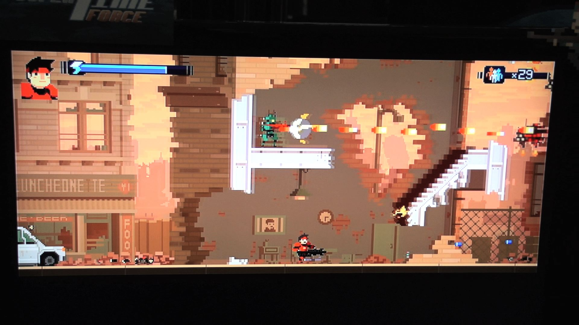 Super Time Force Wallpaper This is Super Time Force by