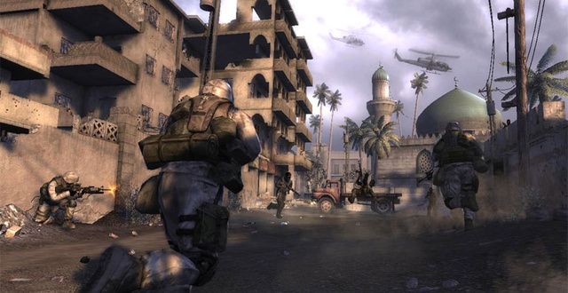 Konami Heads To Iraq For Six Days in Fallujah