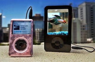 iPond Combines Portable Speaker With a Fish Tank, Enrages Animal Rights Activists