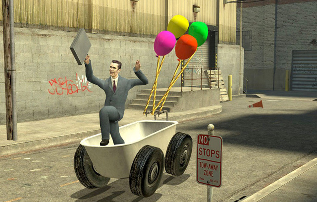 Garry's Mod Brings Source Powered Insanity To Macs