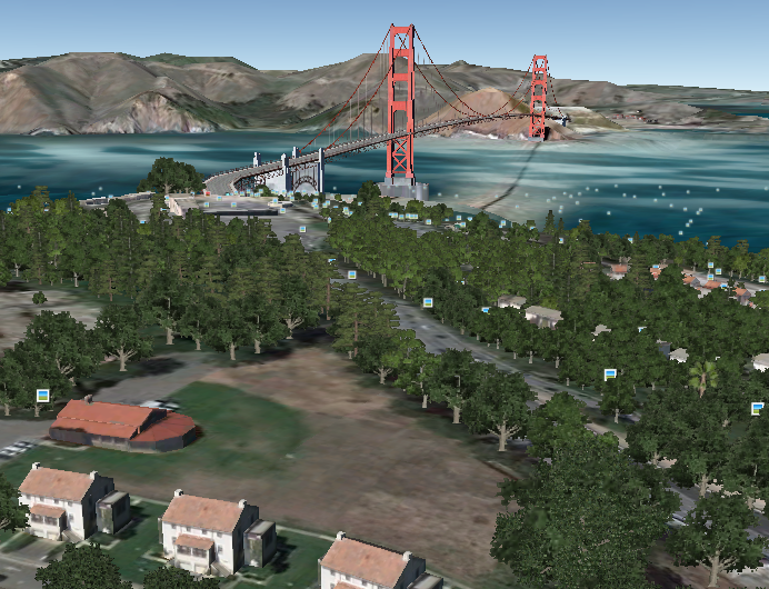 Google earth 6 adds millions of 3d trees and better street view
