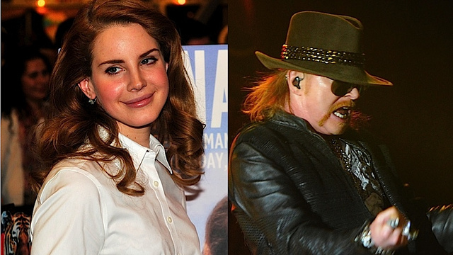 lana del rey and axl rose are musics newest power couple