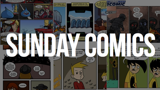 Sunday Comics: You Kiss Your Mother With That Mouth?