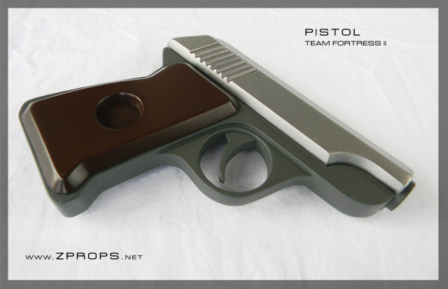 Team Fortress 2 Guns Make the Jump From Game to Reality