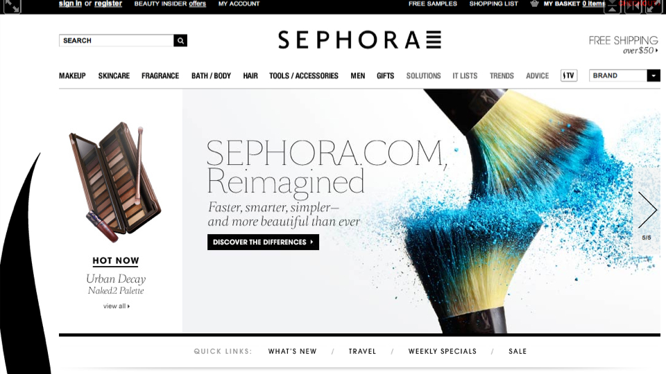 Click here to read Sephora's New Site Is Crack for Beauty Junkies