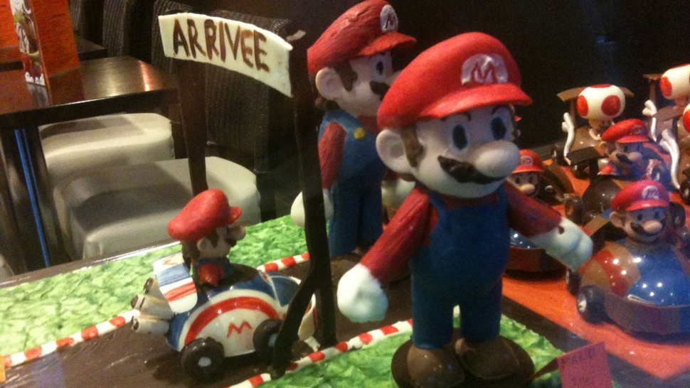 <em>Mario Kart</em>. Made Out of Chocolate.