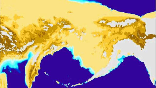 The Bering Land Bridge nearly wrecked the Earth's climate