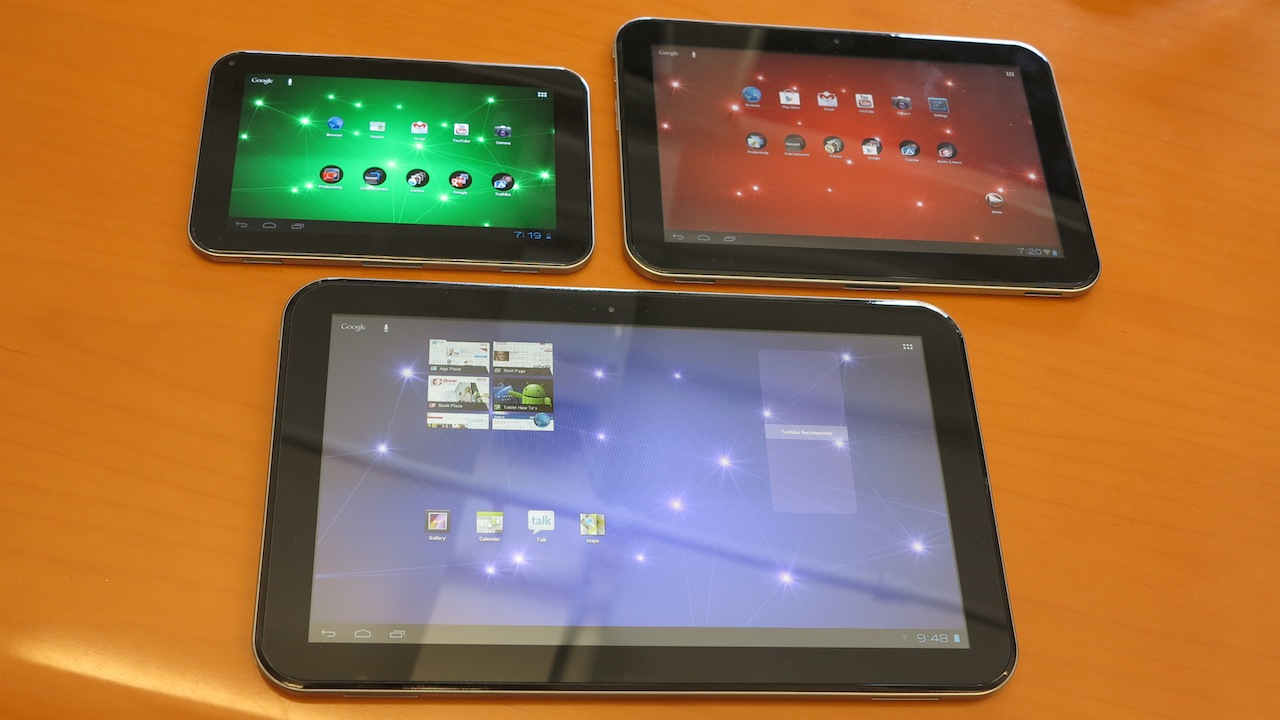 Click here to read Hands On: Toshiba's New Excite Tablets Come In Small, Regular, and Holy Crap