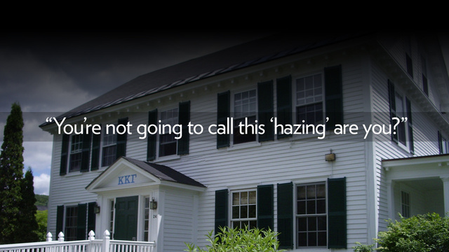 Dartmouth Sorority Girl Goes Public With Her Hazing Nightmare